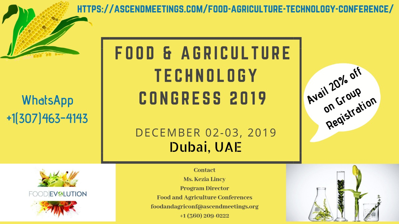 Research and Industrial Experts Meeting on Food and Agriculture Technology (RIEMFAT2019